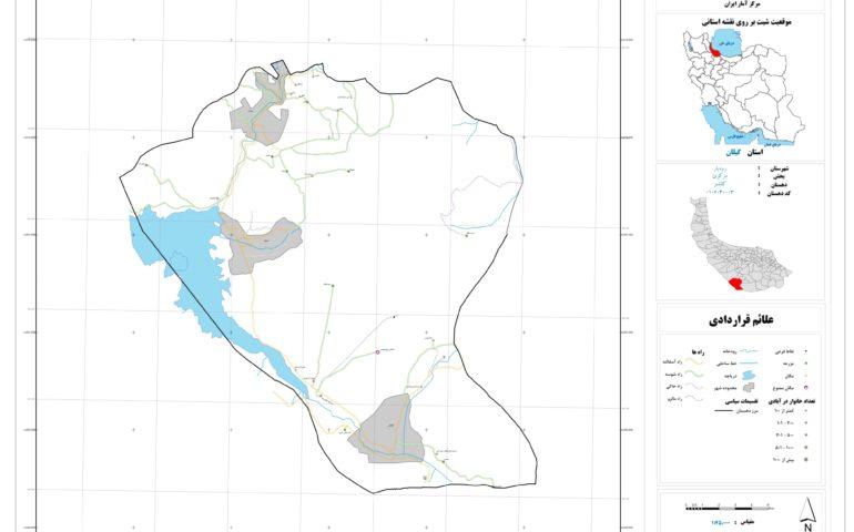 نقشه روستای کلشتر