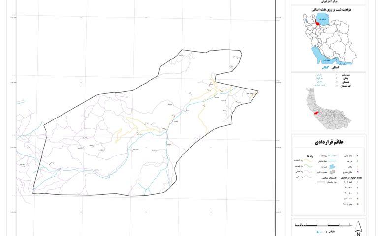 نقشه روستای ماسال