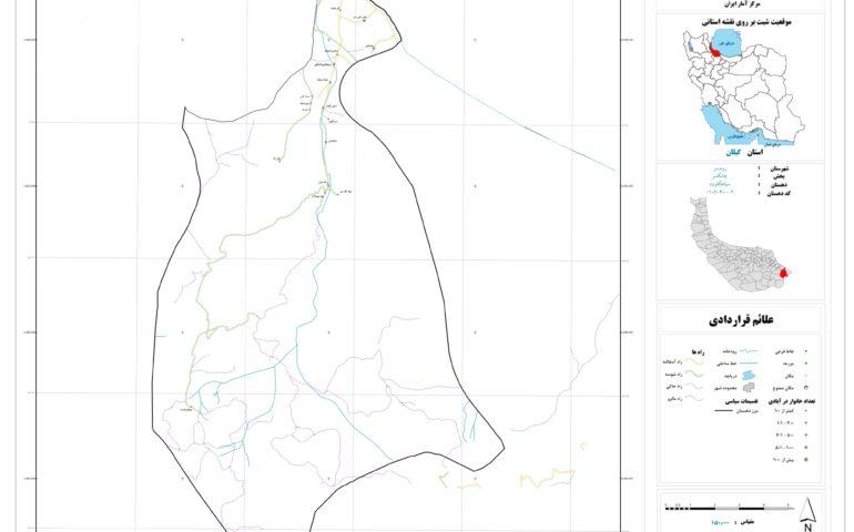 نقشه سیاهکلرود