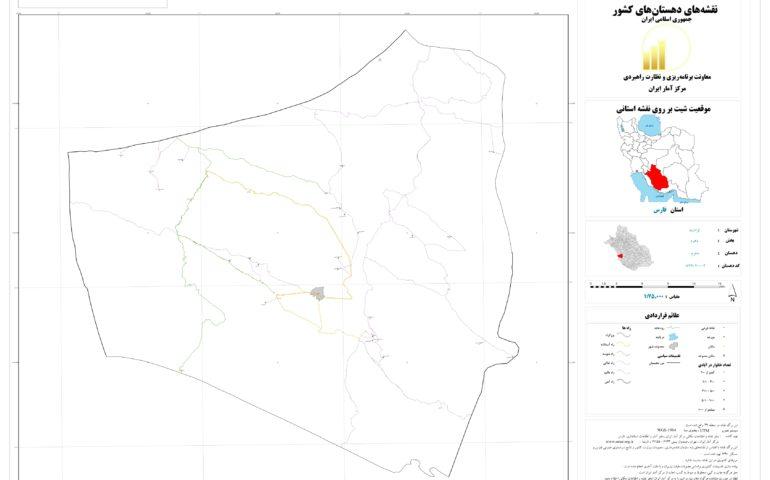 نقشه روستای دهرم