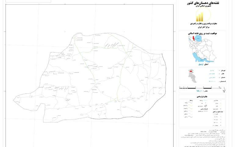 نقشه قشلاق جنوبی