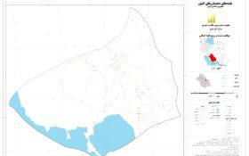 نقشه روستای حنا