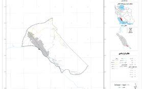 نقشه حومه کنگان