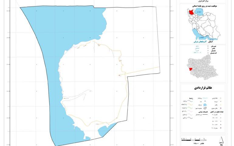 نقشه روستای جزیره