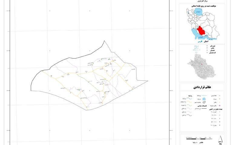 نقشه روستای خبریز