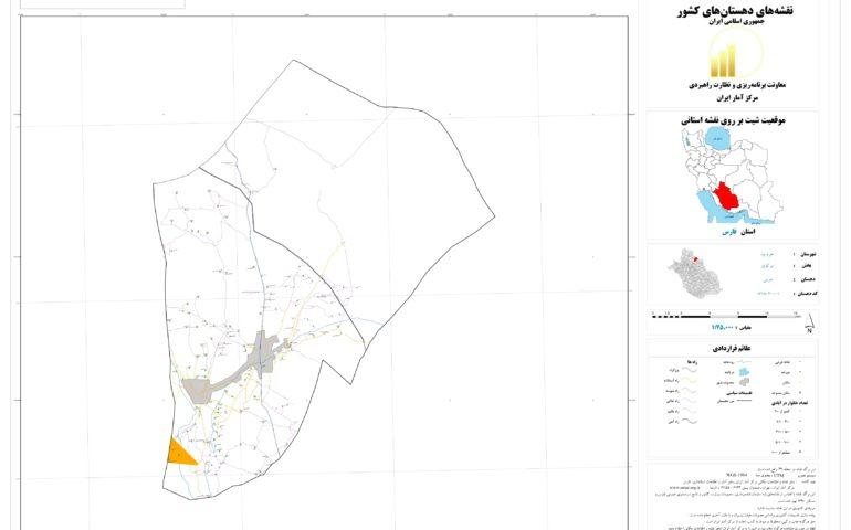 نقشه روستای خرمی