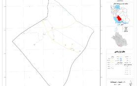 نقشه روستای خوزی