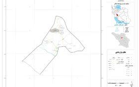 نقشه روستای میزدج سفلی