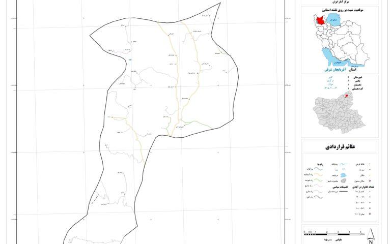 نقشه روستای مولان