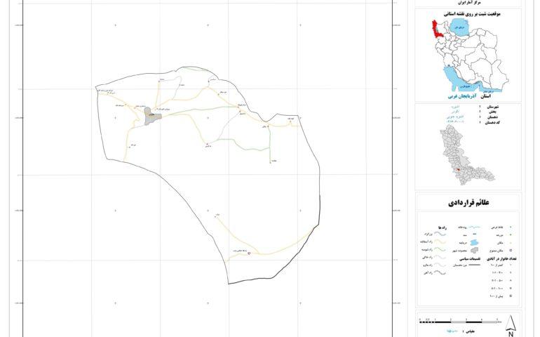 نقشه روستای اشنویه جنوبی