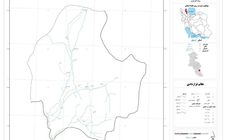 نقشه سنجبد شرقی