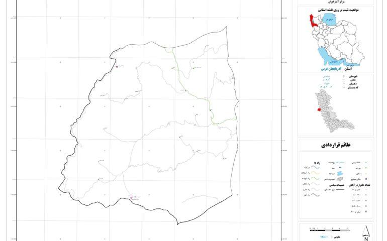 نقشه روستای شپیران