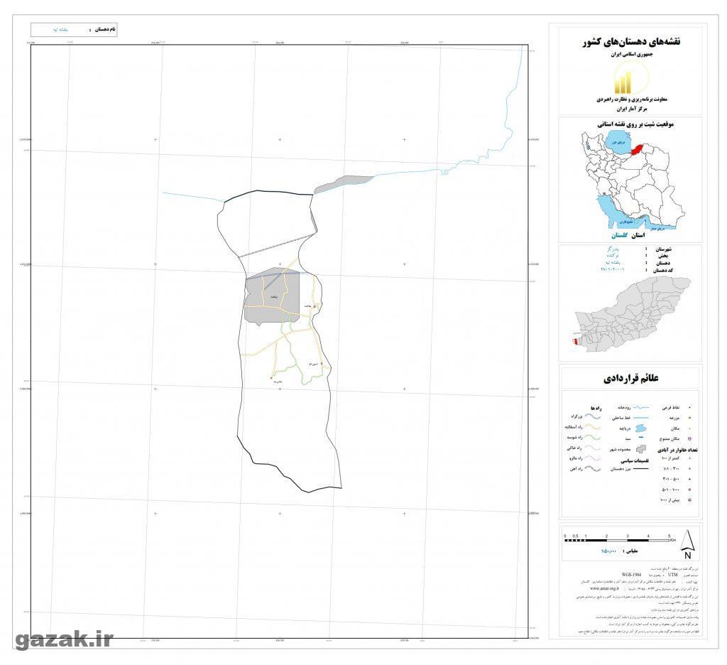 banafsheh tape 1024x936 - نقشه روستاهای شهرستان بندر گز