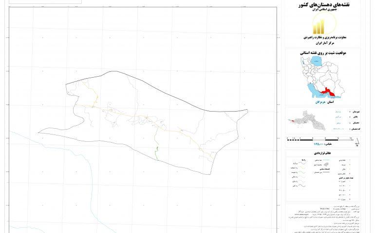 نقشه روستای بوچیر