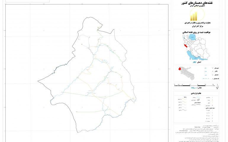 نقشه روستای بولی