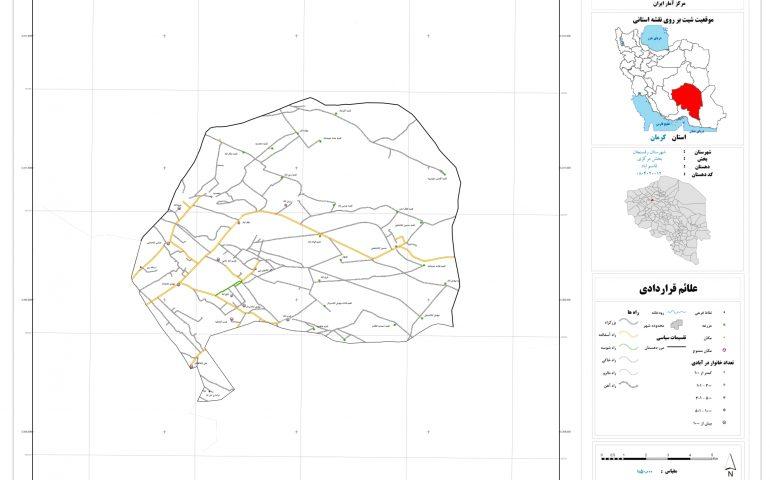 نقشه روستای قاسم آباد