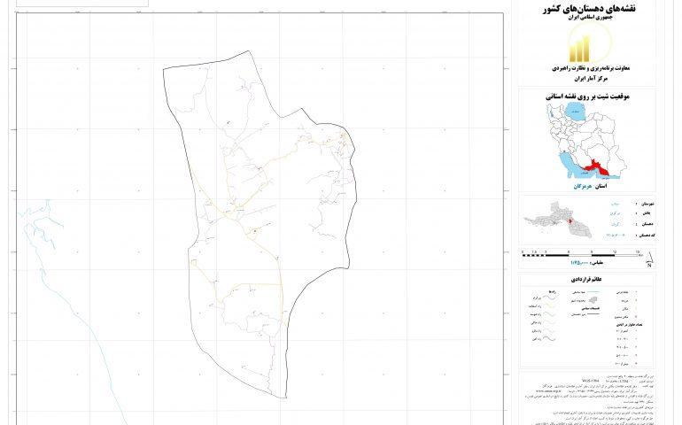 نقشه روستای کریان