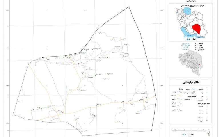 نقشه روستای نگین کویر