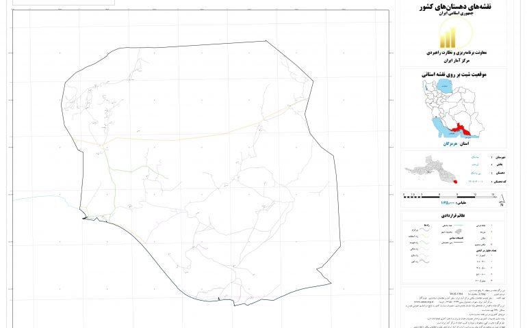 نقشه روستای پی وشک