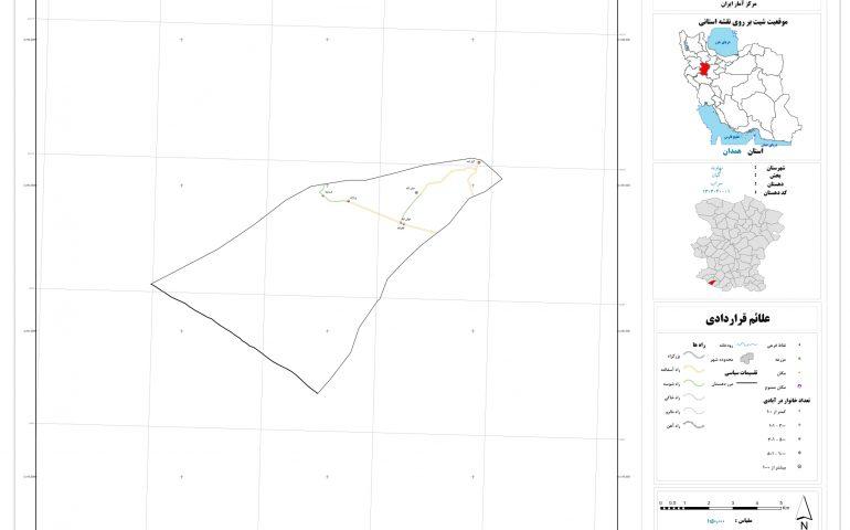 نقشه روستای سراب