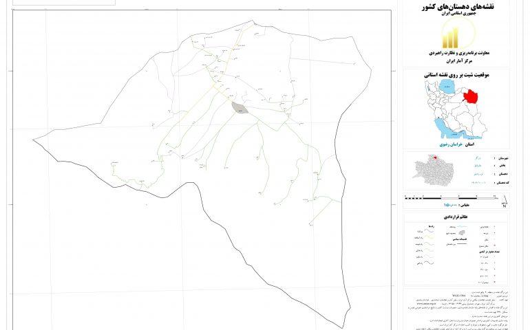 نقشه روستای قره باشلو