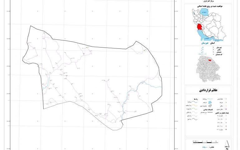 نقشه روستای حتی