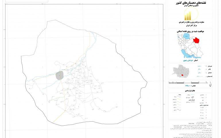 نقشه روستای جنگل
