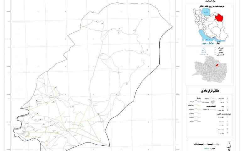 نقشه روستای کنویست