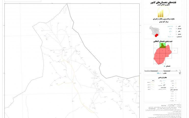 نقشه روستای نه