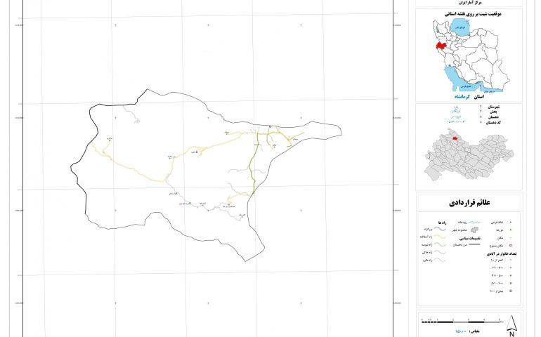 نقشه روستای شیوه سر