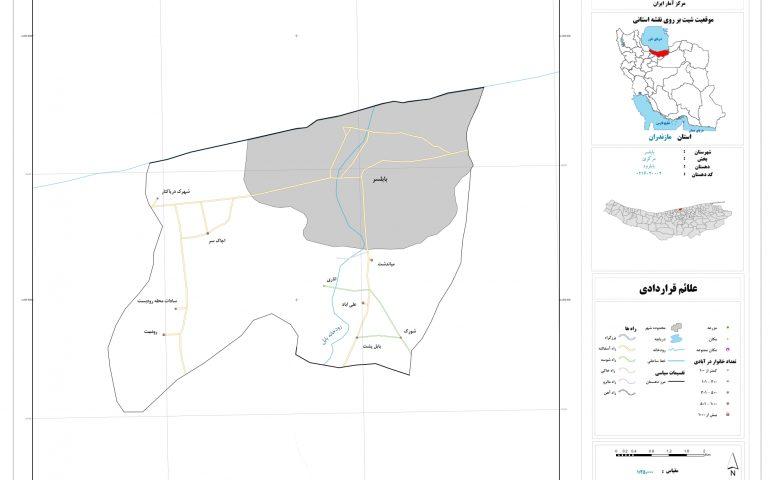 نقشه روستای بابلرود