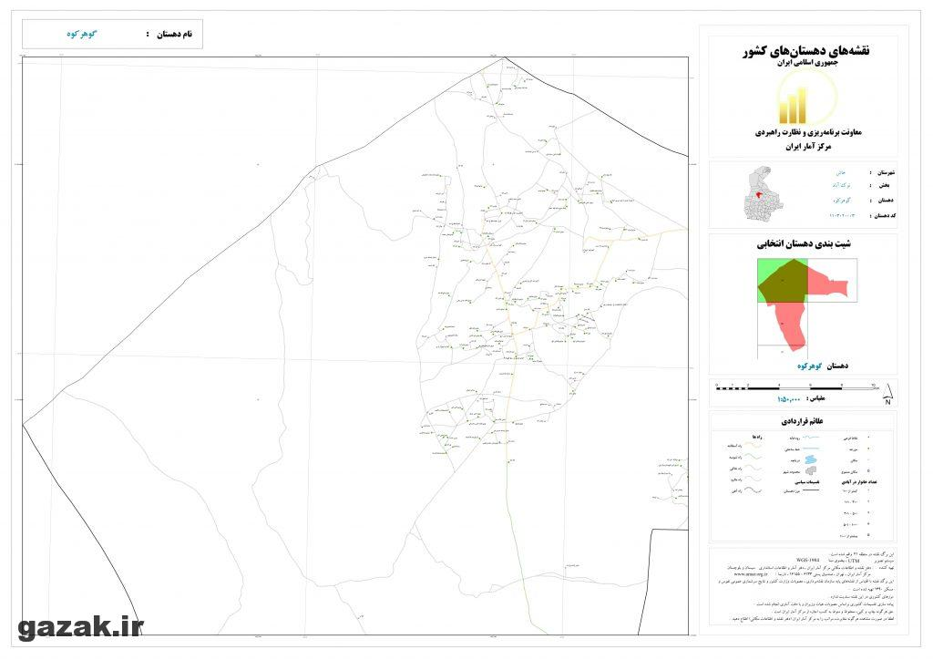 gohar koh 1024x724 - نقشه روستاهای شهرستان خاش