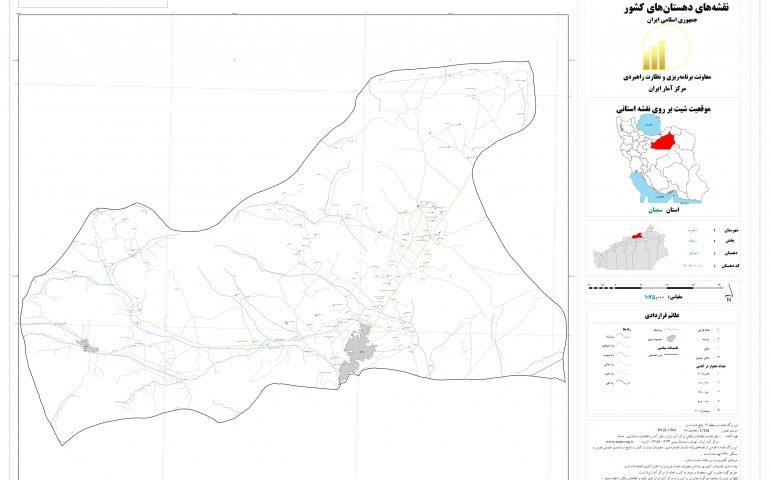 نقشه روستای خرقان