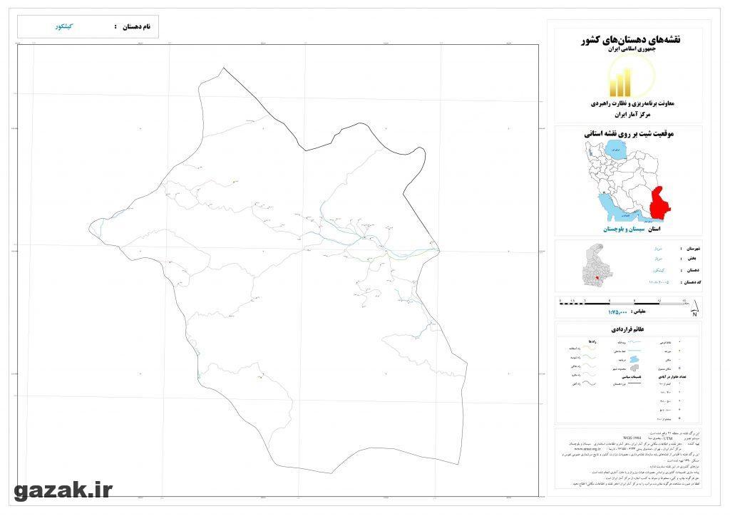 kishkor 1024x724 - نقشه روستاهای شهرستان سرباز