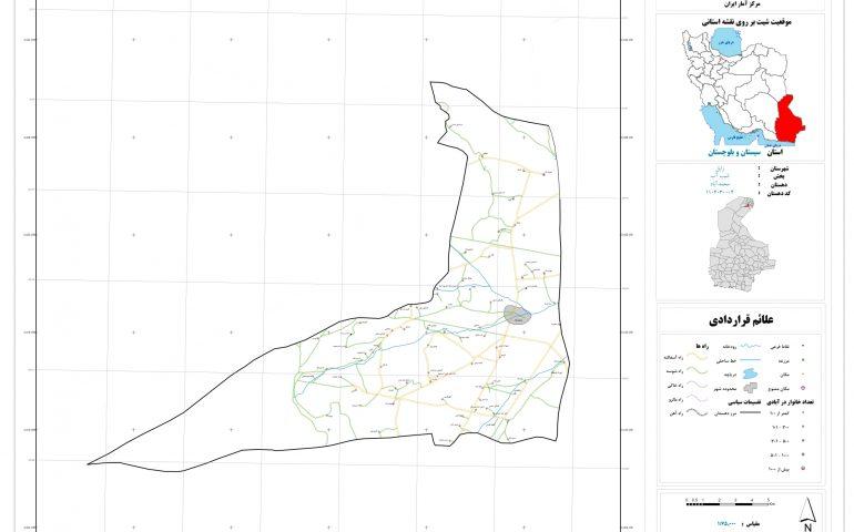نقشه روستای محمد آباد