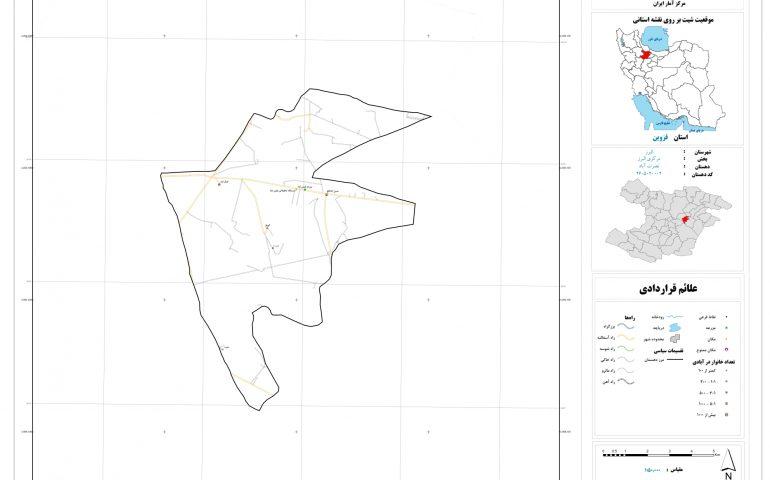نقشه روستای نصرت آباد
