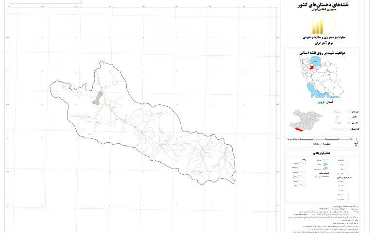 نقشه روستای شهید آباد