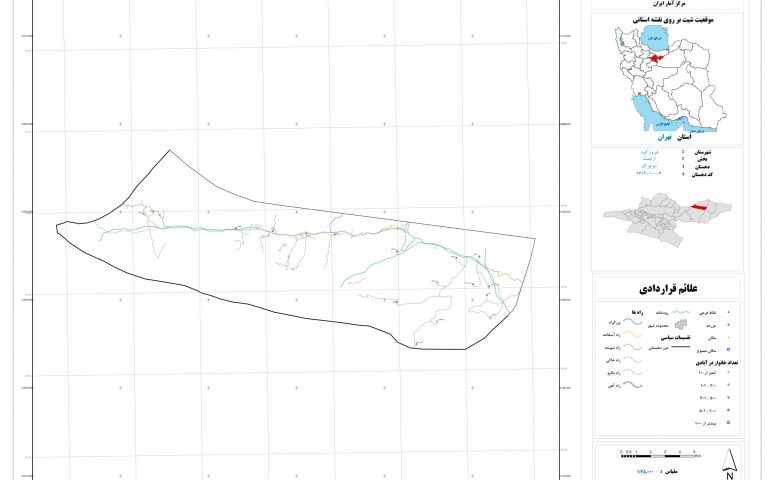 نقشه روستای دوبلوک