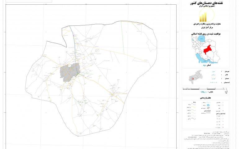 نقشه روستای خورمیز