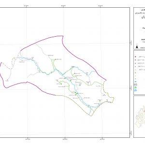نقشه روستای شروینه با کیفیت بالا